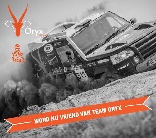 Team Oryx wordt vriend